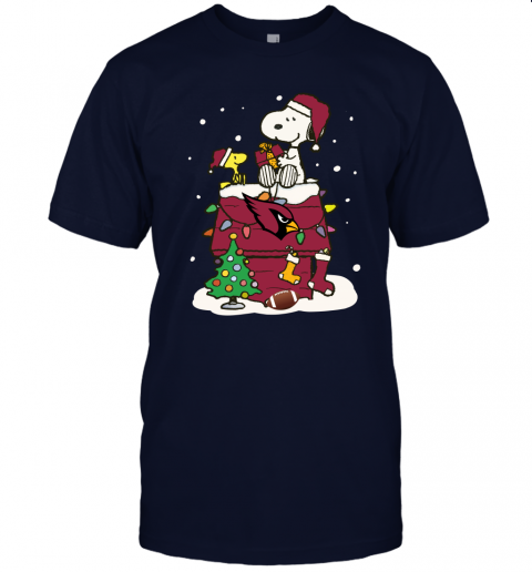 wrxs a happy christmas with arizona cardinals snoopy jersey t shirt 60 front navy
