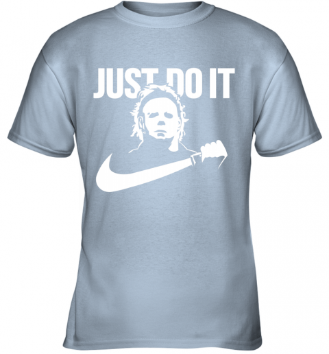 Michael Myers Just Do It Youth T-Shirt