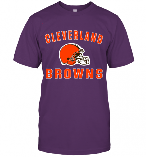 6lfm cleveland browns nfl line by fanatics branded brown victory jersey t shirt 60 front team purple