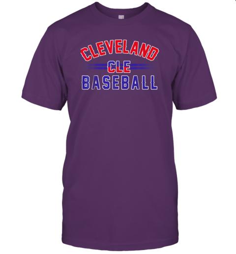 wvmo cleveland cle baseball jersey t shirt 60 front team purple