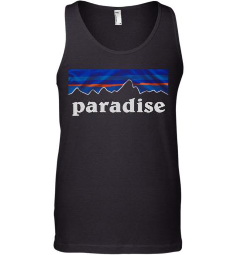 Paradise Summer Vintage Tank Top