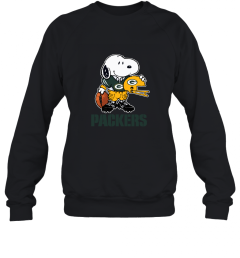 Snoopy A Strong And Proud Green Bay Packers NFL Sweatshirt