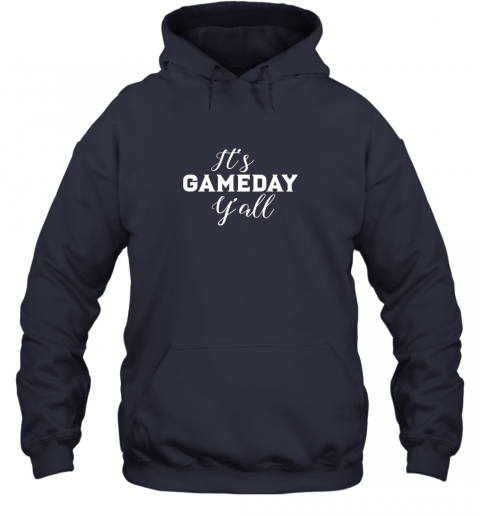 xra6 it39 s game day y39 all football baseball basketball hoodie 23 front navy