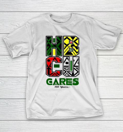 HBCU Cares College University Graduation Gift Black Schools T-Shirt