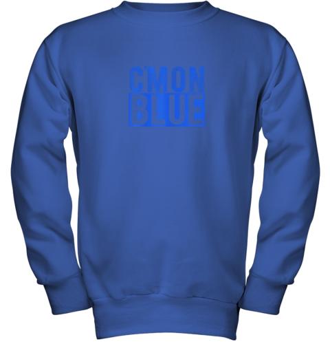 5774 cmon blue umpire baseball fan graphic lover gift youth sweatshirt 47 front royal