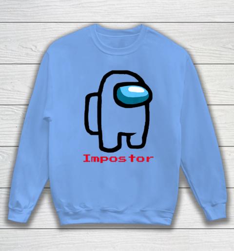 Impostor Among Game Us Sus Crewmate Gamer Sweatshirt 7