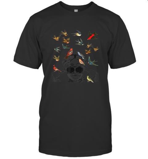 Birdwatching gifts ornithologist twitcher Bird lover TShirt T-Shirt