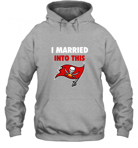 lksx i married into this tampa bay buccaneers football nfl hoodie 23 front sport grey