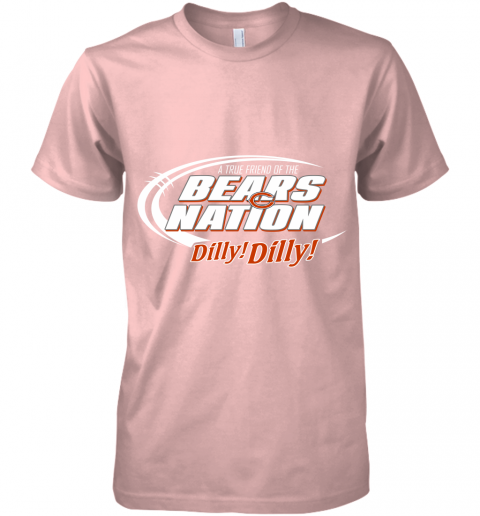 lyjn a true friend of the bears nation premium guys tee 5 front light pink