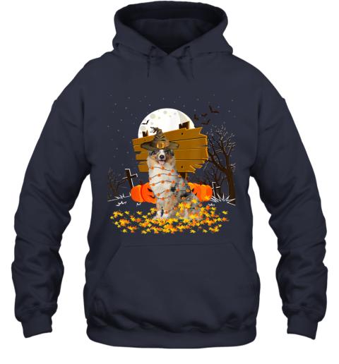 My Australian Shepherd Pumpkins Halloween Dog Gift Hoodie