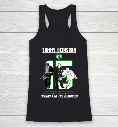 Tommy Heinson 15 Thanks For The Memory Racerback Tank