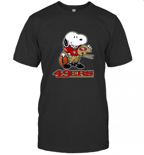 Snoopy A Strong And Proud San Francisco 49ers NFL T-Shirt