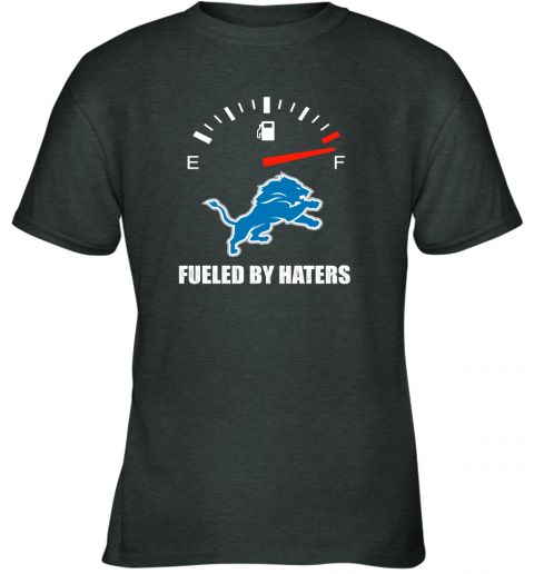 mrit fueled by haters maximum fuel detroit lions youth t shirt 26 front dark heather