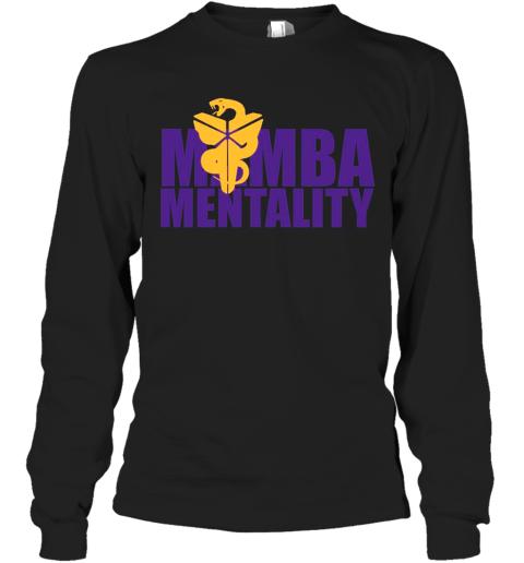Mamba Mentality T Long Sleeve T-Shirt