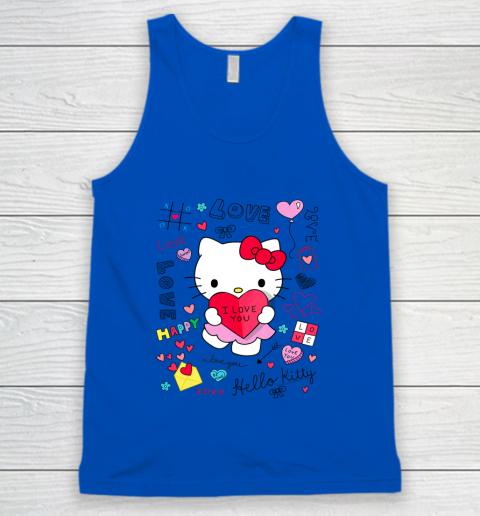 Hello Kitty Love Notes Valentine Tee Tank Top 4