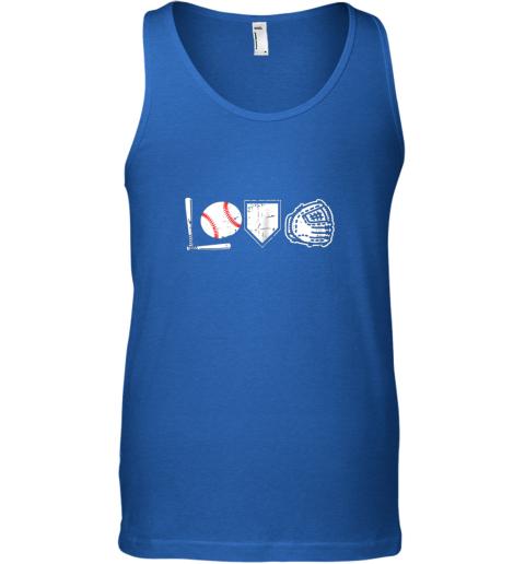 jggp i love baseball baseball heart unisex tank 17 front royal