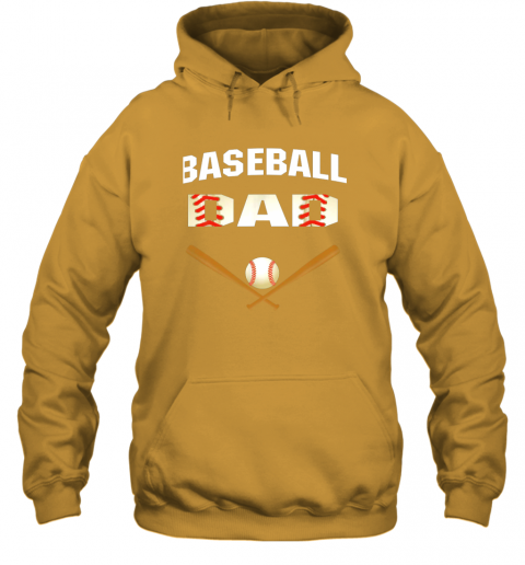4sqk mens baseball dad shirtbest gift idea for fathers hoodie 23 front gold