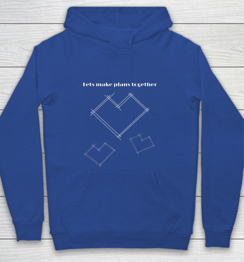 Valentine Architect T Shirt Heart Architecture Student Youth Hoodie 6