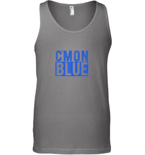 ew71 cmon blue umpire baseball fan graphic lover gift unisex tank 17 front graphite heather