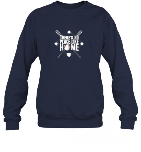xloi there39 s no place like home baseball tshirt mom dad youth sweatshirt 35 front navy