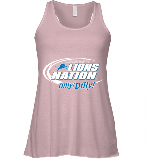 lvth a true friend of the lions nation flowy tank 32 front soft pink