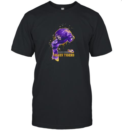 LSU Tigers Rising Baseball Hat Shirt  Apparel Unisex Jersey Tee