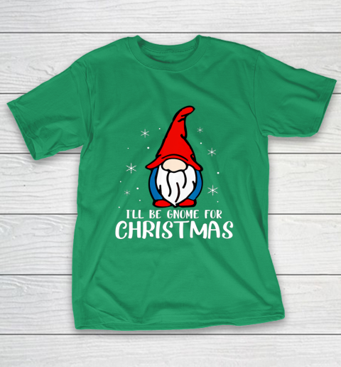 I ll Be Gnome For Christmas Present Xmas Gift For Christians T-Shirt 5