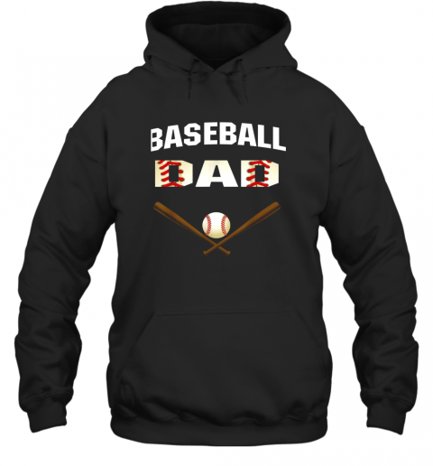 Mens Baseball Dad Shirt  Best Gift Idea For Fathers Hoodie