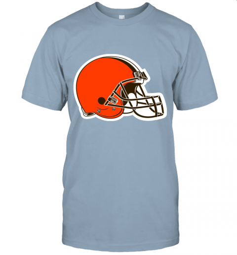 cpuw cleveland browns nfl pro line by fanatics branded brown victory jersey t shirt 60 front light blue