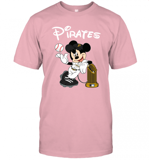 Pittsburgh Pirates Mickey Taking The Trophy MLB 2019 Unisex Jersey Tee