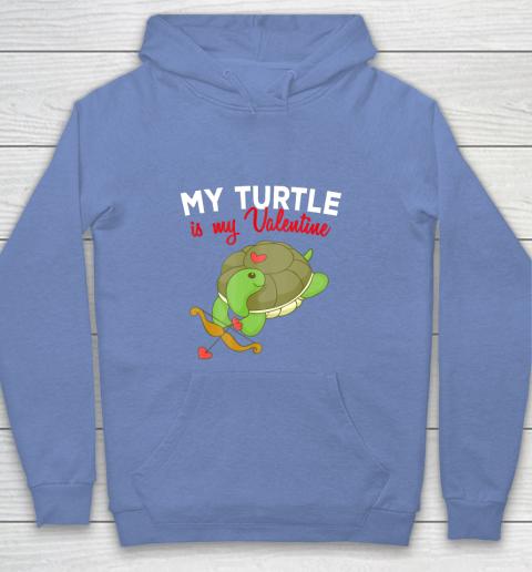 Turtle Valentine T Shirt Sea Turtle Cupid Valentines Day Youth Hoodie 8