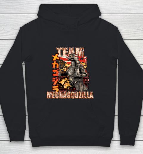 Team Mechagodzilla Japan Vintage Style Youth Hoodie