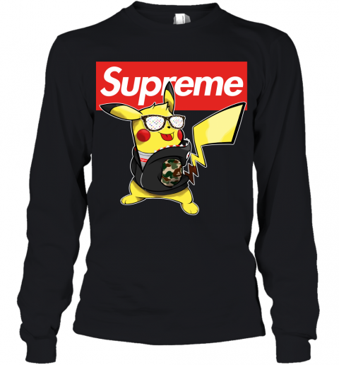 Pikachu Supreme Youth Long Sleeve