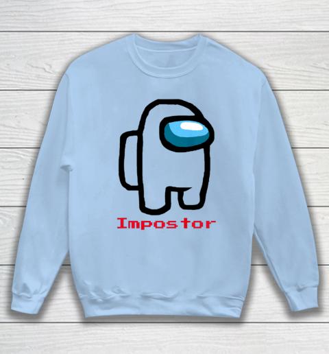 Impostor Among Game Us Sus Crewmate Gamer Sweatshirt 4