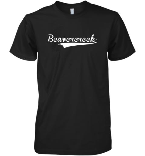 BEAVERCREEK Baseball Styled Jersey Shirt Softball Premium Men's T-Shirt
