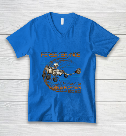 Schematic Perseverance The New NASA Mars Rover 2020 V-Neck T-Shirt 5
