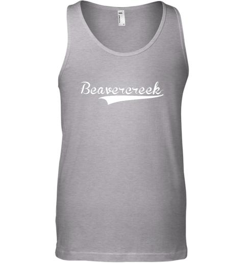 o4nk beavercreek baseball styled jersey shirt softball unisex tank 17 front sport grey