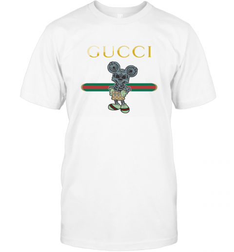 Gucci Skeleton Mickey Mouse T-Shirt