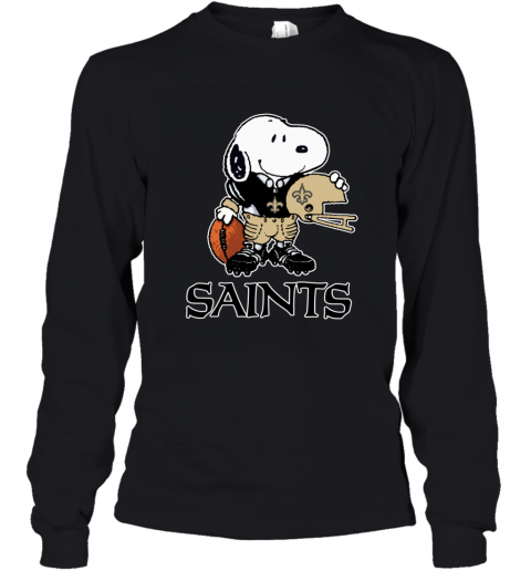 Snoopy A Strong And Proud New Orleans Saints NFL Youth Long Sleeve