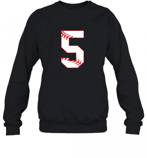 Cute Fifth Birthday Party 5th Baseball Shirt Born 2014 Sweatshirt