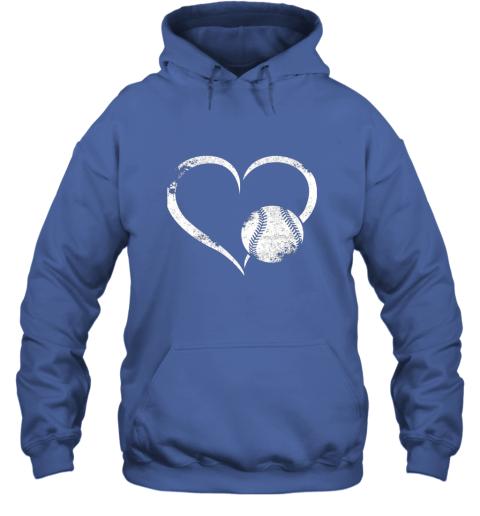 lxql i love baseballl funny baseball lover heartbeat hoodie 23 front royal