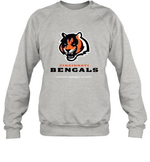 pkng cincinnati cengals nfl pro line black team lockup sweatshirt 35 front ash
