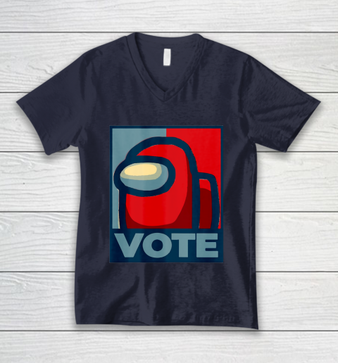 Who is the Impostor neu Among with us start the vote V-Neck T-Shirt 3
