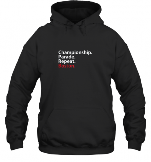 Boston Championship 2018 Game Day Shirt Baseball Hoodie