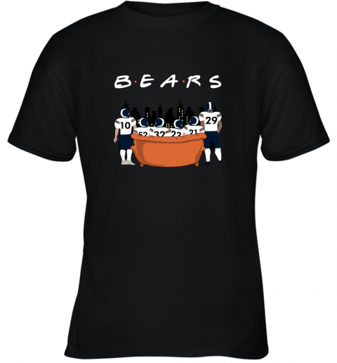 The Chicago Bears Together F.R.I.E.N.D.S NFL Youth T-Shirt