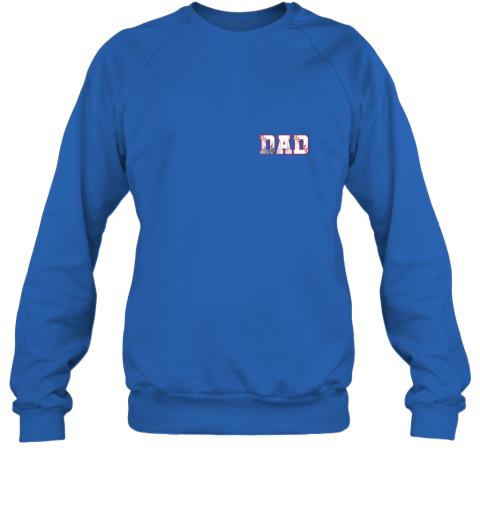 chhd mens baseball inspired dad fathers day distressed sweatshirt 35 front royal
