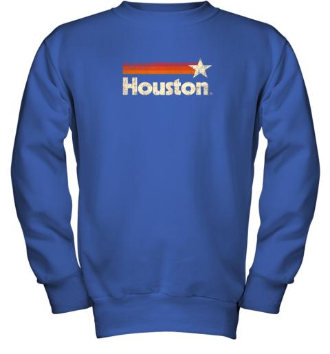 t0lx houston texas shirt houston strong shirt vintage stripes youth sweatshirt 47 front royal