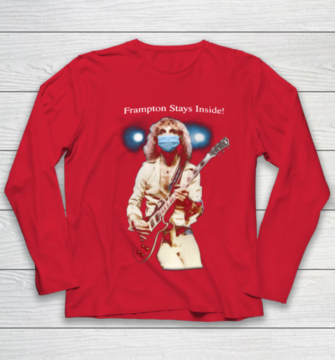 Peter Frampton Covid Stays Inside Youth Long Sleeve 8