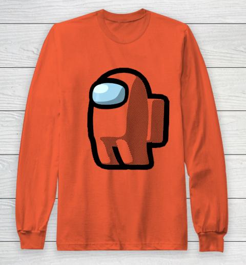 Imposter Among Gamer Us Impostor Sus Long Sleeve T-Shirt 3