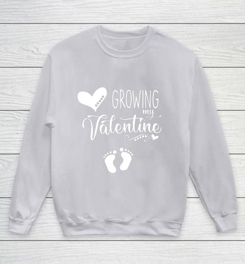Growing my Valentine Tshirt for Wife Youth Sweatshirt 3